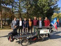 BULGARISTAN - Fransa'dan Bisikletiyle Erzincan'a Geldi