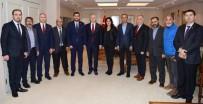 GGC Yöneticileri Vali Davut Gül'ü Ziyaret Etti