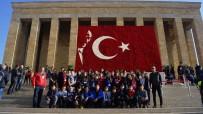 GAZI MUSTAFA KEMAL - Kadir Has Ortaokulu Öğrencilerinden Ankara Gezisi