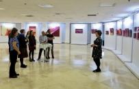RESIM SERGISI - 'Kırmızı Hasat' Resim Sergisi TSKM'de Açıldı