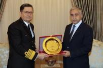 KKTC Cumhurbaşkanı Akıncı, Oramiral Özbal'ı Kabul Etti