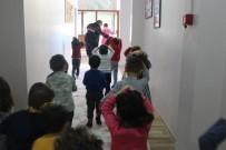 TATBIKAT - Kreş Öğrencileriyle Deprem Tatbikatı