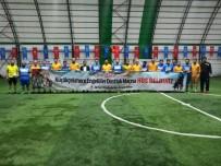 KÜÇÜKÇEKMECE BELEDİYESİ - Küçükçekmece'de 'Spor Engel Tanımaz' Sloganıyla Bir Dostluk Maçı Düzenlendi
