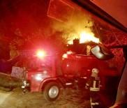 Muğla'da Ev Yangın