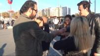 TAKSIM - (Özel) Taksim'de Atatürk Portresiyle Duygu Sömürüsüne Gözaltı