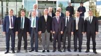 İL SAĞLIK MÜDÜRÜ - Sağlık Müdürü Sünnetçioğlu'na Kurum Müdürlerinden Hayırlı Olsun Ziyareti