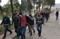 Samsun'da Kablo Hırsızlığından 13 Şüpheli Adliyede