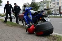 Samsun'da Otomobilin Çarptığı Motosikletli Ağır Yaralandı