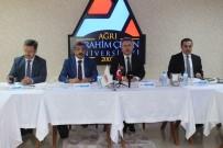 ENVER ÜNLÜ - SERKA'nın 61'Nci Yönetim Kurulu Toplantısı Ağrı'da Yapıldı