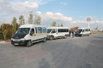 Sungurlu'da Servis Araçları Denetlendi