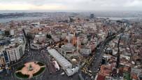 ORTODOKS KILISESI - Taksim Camii'nde Son Durum Havadan Görüntülendi
