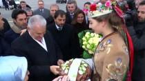 ESENBOĞA HAVALIMANı - TBMM Başkanı Yıldırım Belarus'a Gitti