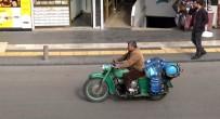 Tehlikeye Rağmen Motosiklet İle Yük Taşımacılığı Artıyor
