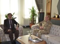 GÜVENLİK GÜÇLERİ - Tümgeneral Hacıoğlu, Başkan Bulutlar'ı Ziyaret Etti