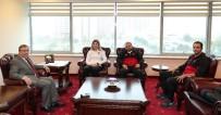 Türkiye'nin Gururu Güreşçi Yasemin Adar Üniversitesini Ziyaret Etti