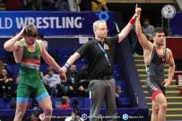 ÇİNLİ - U23 Dünya Grekoromen Güreş Şampiyonası'nda İki Yarı Finalist