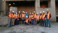 Üniversite Öğrencileri Çimento Fabrikasına Teknik Gezi Düzenledi