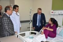 YıLDıZLı - Vali Deniz Manisa Şehir Hastanesinde İncelemelerde Bulundu