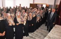 ÖĞRETMENEVI - Vali Köşger'den Kız Kur'an Kursu Öğrencilerine İlk Ders