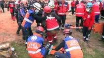 MEDİKAL KURTARMA - AFAD'dan Yıkımına Başlanan Statta Deprem Tatbikatı