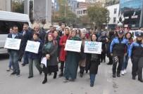 HİPERTANSİYON - Ak Parti Kadın Kolları 14 Kasım Diyabet Günü Dolayısıyla Yürüyüş Düzenlendi