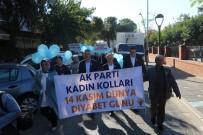 BASIN AÇIKLAMASI - AK Parti'li Kadınlar Diyabete Dikkat Çekti