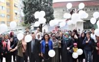 Akciğer Kanseri Hastaları Beyaz Balon Uçurdu