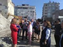 Avrupalı Öğretmenler Kent Meydanı İnşaatını Gezdi