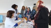 Burhaniye'de Diyabet Günü'nde Ücretsiz Şeker Ölçümü