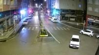 YAYA KALDIRIMI - Drift yapan sürücüye polis acımadı