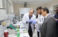 ERCIYES - ERÜ Rektörü Çalış, ERNAM Da İncelemelerde Bulundu