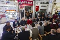 DERNEK BAŞKANI - Esnaftan Başkan Çelik'e Tam Destek