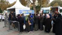 SAĞLIKLI BESLENME - Eyüpsultan Meydanı'nda 'Diyabet Günü' Nde  Ücretsiz Şeker Taraması