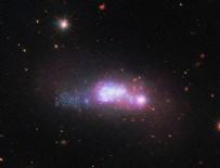 UZAY TELESKOBU - Uzayın derinliklerindeki cüce galaksi görüntülendi