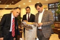 İstiridye Mantarı Satışı İçin Başkan Türkmen'den Yer Talep Ettiler