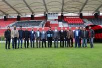 KULÜP BAŞKANI - Karaköprüspor'un Yeni Stadı Açılıyor