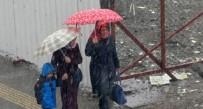 KıYAMET - Kars Merkeze Mevsimin İlk Karı Yağdı