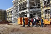 YOĞUN BAKIM ÜNİTESİ - Kula'nın Yeni Hastanesinin Yüzde 65'İ Tamamlandı