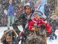 DOĞU ANADOLU - Meteorolojiden sağanak ve kar uyarısı