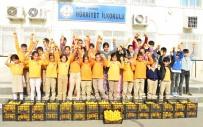 İSTİKLAL - Minik Öğrencilere Narenciye Sürprizi