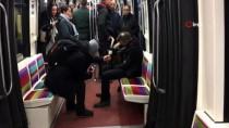 PARIS - Paris Metrosunda Çaldığı Keçi İle Yakalandı