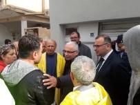GEÇMİŞ OLSUN - Reyhanlı'da Aşırı Yağışın Ardından Hasar Tespit Çalışması Başlatıldı