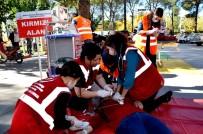 TATBIKAT - Sarıgöl Devlet Hastanesinde Yangın Tatbikatı