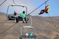 ERCIYES - Teleferikte Mahsur Kalan 8 Kişi Düzenlenen Operasyonla Kurtarıldı