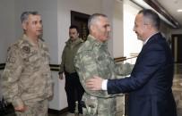 TUGAY KOMUTANI - Tuğgeneral Halil Soysal, Vali Ali Fuat Atik'i Ziyaret Etti