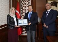 ALİ HAMZA PEHLİVAN - Vali Pehlivan, Proje Ödülü Alan Öğretmenlerin Belgelerini Takdim Etti