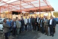 DERNEK BAŞKANI - Yanan Oduncular Sitesi Onarılıyor