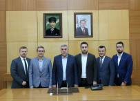 SAKARYASPOR - Akademi Sakaryaspor Platformunun Üyelerinden Toçoğlu'na Ziyaret