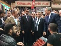 EROL AYYıLDıZ - Bakan Kurum, Sokak Müzisyenleriyle Türkü Söyledi