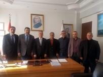 MUSTAFA ŞAHİN - Başkan Aydemir'den Tarım Ve Orman İl Müdürü Şahin'e Ziyaret